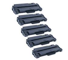 5 PK MLT-D105L Toner Cartridge for Samsung MLT-D105L/D105s ML-2545 laser printer