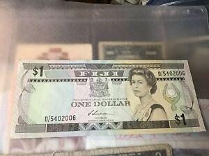 Fiji, One Dollar Banknote