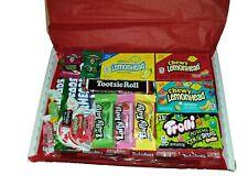 American Candy Sweets Gift Box Hamper - Nerds Warheads Mike & Ike