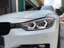 4x DTM White Concept M4 Iconic Style LED Angel Eye Kit w/Relay Wirings For BMW