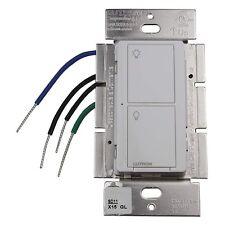 5 Amp Max. 2 Button RF Switch - 120/277V White - Lutron PD-5S-DV-WH