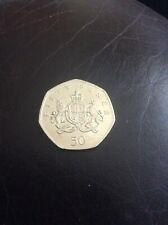 2013 christopher ironside 50p coin 🌟
