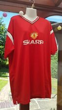 Manchester United Shirt 1985 F.A Cup Final XXL Home Score Draw official Replica