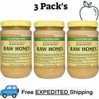 3 Pack's Y.S. Eco Bee Farms, Raw Honey, U.S. Grade A, 22.0 oz (623 g)
