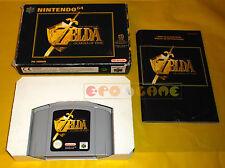 THE LEGEND OF ZELDA OCARINA OF TIME Nintendo 64 N64 Vers. PAL Italiana COMPLETO