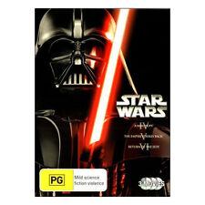 Star Wars: Original Trilogy IV, V, VI DVD  Brand New  Mark Hamill, Harrison Ford