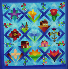 A Dusty Garden Grows Beautiful Patchwork Quilts from Dust Bowl Days Pattern Book