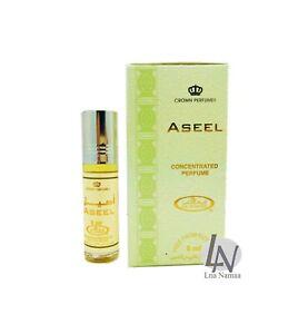 Aseel - Al Rehab 6ml Fragrance Alcohol-free Halal Roll-on Perfume Oil