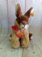 Vintage Steiff Pummy Bunny Plush Toy 083358