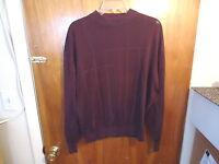 "Mens Pronto-Uomo Size L Purple Long Sleeve Sweater "" BEAUTIFUL SWEATER """