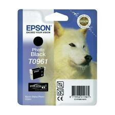 Original Epson T0961 Photo Black C13T09614010 for Photo R2880, MHD Expired