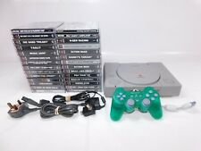 PLAYSTATION 1 Console SCPH-9002 with 29 x Games + DualShock Controller - WORKING