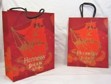New 10 HENNESSY Red Gold Big Gift Bags Art by Shan Jiang 2018 Chinese New Year