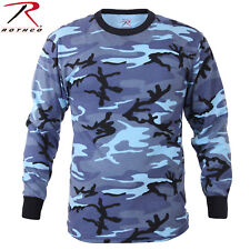 Rothco Long Sleeve Camo T-Shirts - Military Style Long Sleeve Camouflage Tees