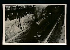 Railway Somerset BATH railway loco #7023 Penrice Castle with train 1953 photo