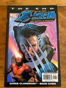 X MEN END #1 MARVEL COMICS 2004 SIGNED by CHRIS CLAREMONT COMBINE SHIPPING box M