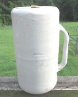 Antique RARE GRAY STONEWARE Salt Glazed Jug Hot Water Bed or Foot Warmer