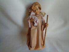 """Vintage 1988 Fontanini Angel Figurine 8.25"""""""