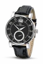 Orologio PHILIP WATCH GRANDATA acciaio uomo SWISS MADE black dial genere formale
