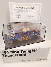 Bill Elliott #94 Revell 1997 Mac Tonight Ford Thunderbird 1:24th scale Hamilton