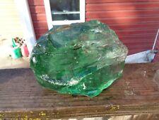 Glass Rock Slag Clear Pretty Green 4.12 lb Cc24 Landscaping Aquarium
