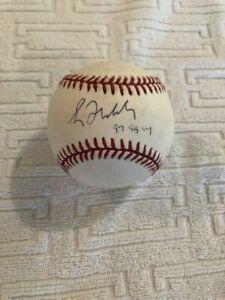 Greg Maddux Signed OMLB Baseball 97 95 CY - JSA  CERT