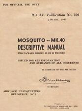 DE HAVILLAND DH.98 MOSQUITO 40 - RAAF / DESCRIPTIVE MANUAL