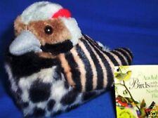 "AUDUBON WILD REPUBLIC NORTHERN FLICKER SONG BIRD NWT FREE 3"" CARDINAL W/ 3 BIRDS"