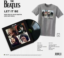 The Beatles - Let It Be + T-Shirt Large (Exclusive Vinyl) Bundle pre order