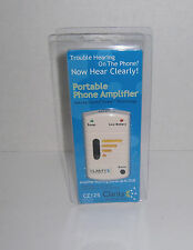 New Clarity CE-125 Phone Amplifier Telephone Amplifying Life Hearing