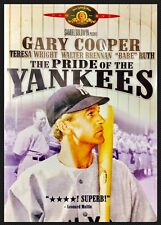 The Pride of the Yankees (DVD) starring Gary Cooper