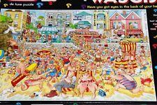 Jumbo - Wasgij Original No.8 High Tide! 1000 Piece Jigsaw de luxe Puzzle Used