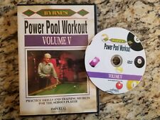 Byrne's Power Pool Workout Volume V DVD Practice Drills and Training Secrets EUC