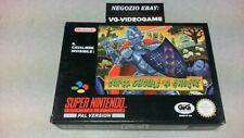 SUPER GHOULS'N GHOSTS !!!!!  NUOVO !!!  SUPER NINTENDO