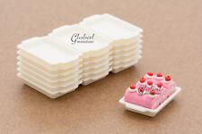 Dollhouse Miniatures Plastic Bakery Baking Tray