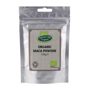 Organic Maca Powder 100g Certified Organic