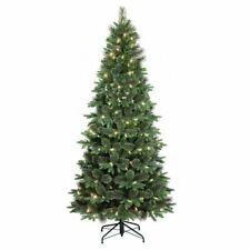 Дерево с установленной подсветкой