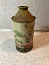Heileman's Old Style Lager Beer Cone Top Irtp G Heileman Brg Co La Crosse Wisc