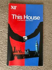More details for this house- national theatre programme