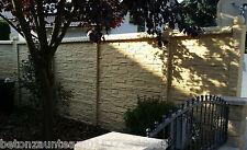 Sichtschutz Mauer In Sicht Larmschutzwande Gunstig Kaufen Ebay