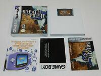 Breath of Fire II 2 Nintendo Game Boy Advance Game Complete CIB