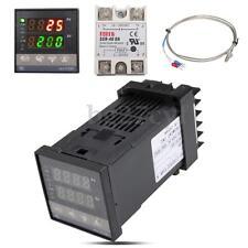 0 to 1300℃ Digital PID Temperature Controller & 40A SSR & K Thermocouple Sensor