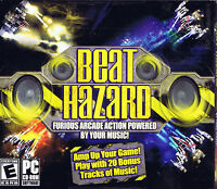 Beat Hazard (PC, 2010, THQ, SEALED NEW)