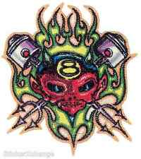 Piston Devil Embroidered Patch Artist Von Franco VFP15