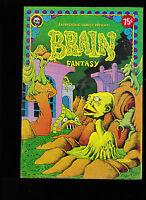 Brain Fantasy #1 (Metzger) Last Gasp Underground Comic Book