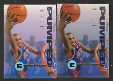 1994-95 EMotion GRANT HILL Rookie Cards-One with No Number BV $50