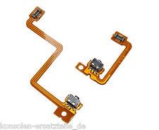 3DS Schultertasten Flexkabel links und rechts L/R Taste Tasten Paar ohne Löten