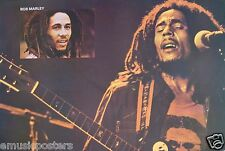 "BOB MARLEY ""DOUBLE HEAD SHOTS"" POSTER FROM ASIA - Reggae, Ska, Rocksteady Music"