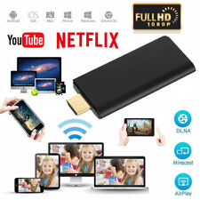 1080P Miracast WiFi Display TV Stick Dongle Chromcast Wireless Airplay Netflix