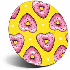 Awesome Fridge Magnet - Pink Heart Donuts Doughnuts Food Cool Gift #12712